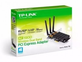 Adaptador Wifi Tplink Pci Express Archer T9e Ac1900 Dual