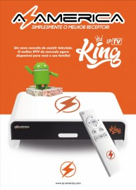 Azamerica King 4K - Somente pela Internet