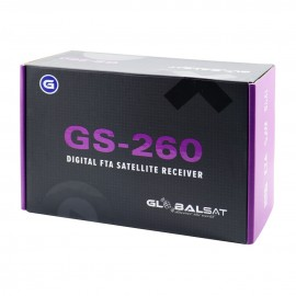 Globalsat GS260 - ACM, WiFi, Lancamento 2019