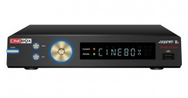 CINEBOX LEGEND X2 DUAL CORE - SKS E IKS, ACM, WiFi - Lançamento