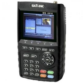 Localizador De Satelite Satlink Ws 6916 DVB-HD