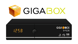 Giga Box S-1200 - ACM / H265 - SKS - IKS - Full HD - WiFi - Lançamento Top !!