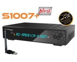 AZAMERICA S1007 PLUS- IKS E SKS - 4K, WIFI, ACM - LANÇAMENTO.