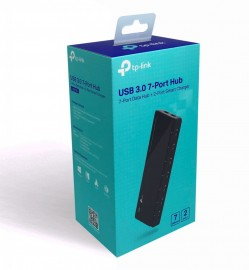 TP-LINK HUB USB 3.0 UH720 7 PORT + 2 PORT PARA CARREGADOR