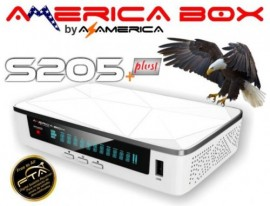 AMERICA BOX S205 PLUS  WIFI / DLNA SKS IKS, ACM