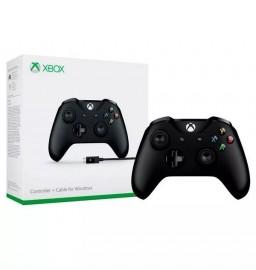 Controle Xbox One Entrada P2 Modelo Novo Preto Com Cabo