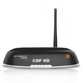 AZAMÉRICA S2005 + HD + 3D + WIFI + IPTV + DISPLAY OLED + SKS/IKS - Pronta Entrega