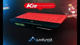 AUDISAT K20 HURACAN - IKS/SKS/ACM/WiFi