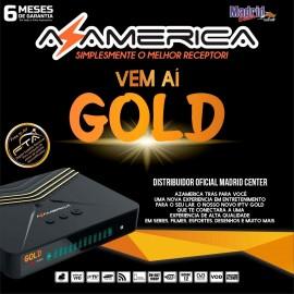 Azamerica Gold - UHD - WiFi - Modelo 2019