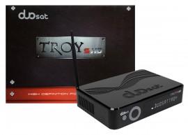 Duosat Troy S HD ACM H265 - IKS, SKS - WiFi - Lançamento