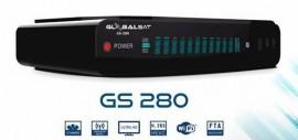 Globalsat GS 280 - ACM, H265, WiFi, 3 Tunners - Lançamento 2017