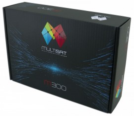 Multisat M300 Black - Full HD - Lancamento