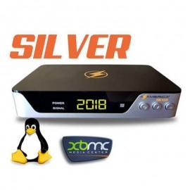 Azamerica Silver - IKS, SKS, 4K, Linux - Lancamento 2018