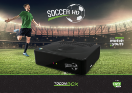 Tocombox Soccer HD - SKS/IKS Wifi, ACM, 3 Tunners