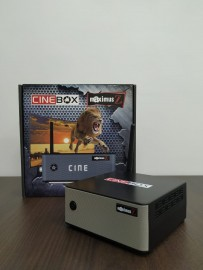 Cinebox Maximus Z - ACM 4K WiFi 3 Tuners - Lancamento 2019
