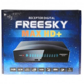 FREESKY MAX HD + PLUS / WI-FI / IKS-SKS-IPTV / ACM